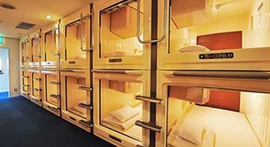 Top capsule hotels in osaka super cheap japan for Hotels japon